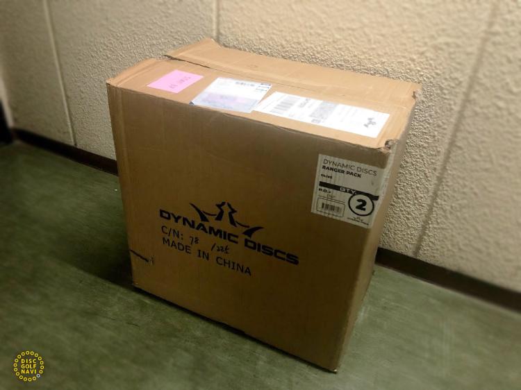 Dynamic Discs Ranger Backpack Disc Golf Bagの梱包