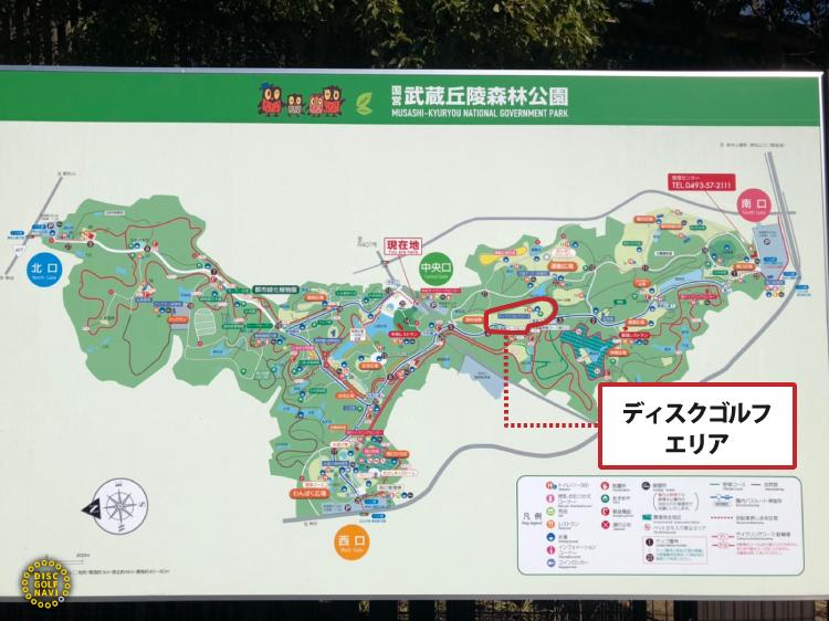 国営武蔵丘陵森林公園ディスクゴルフエリア