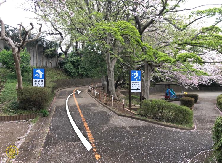 船橋運動公園ディスクゴルフコースへの道順4